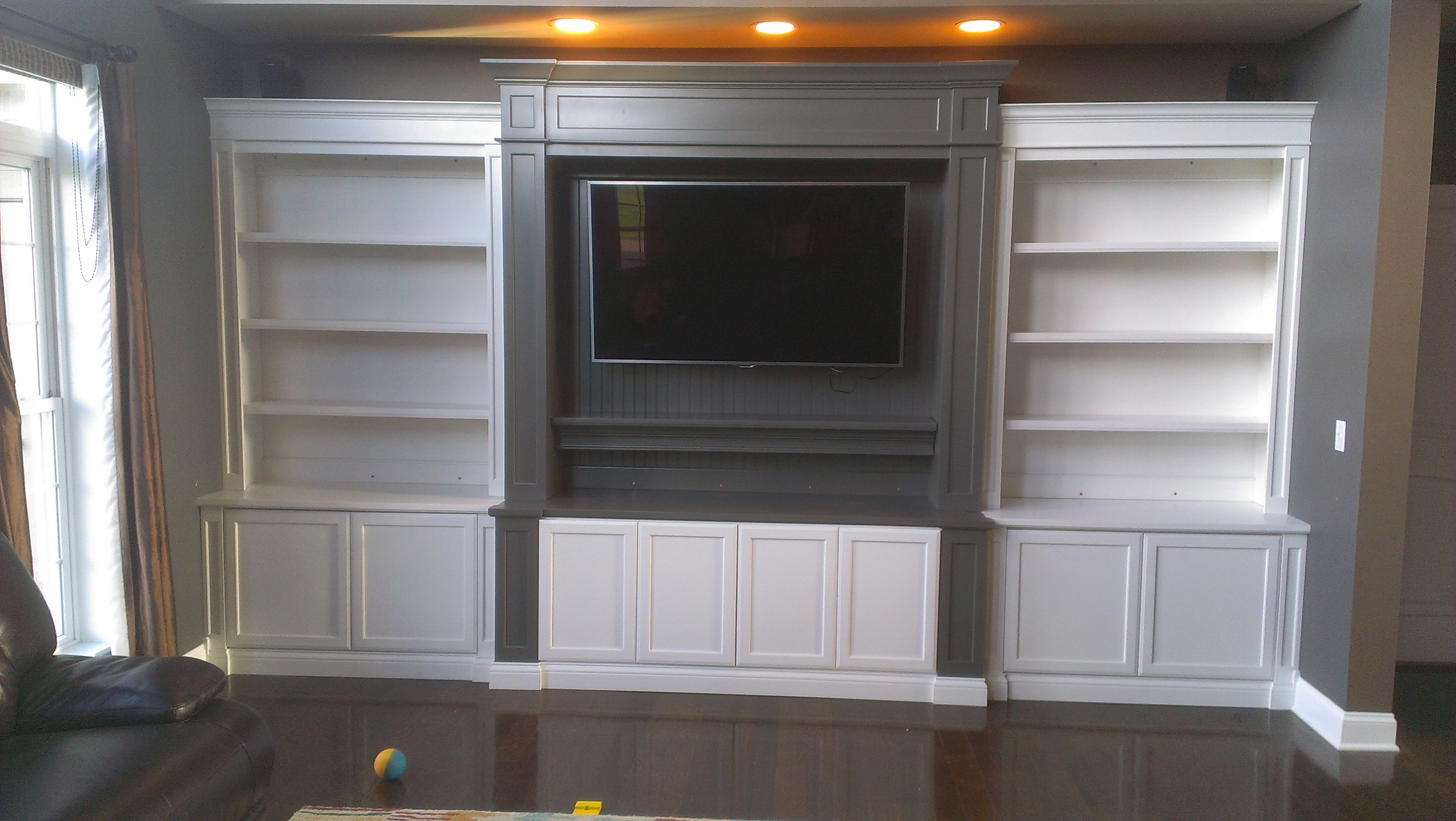 Bookcases C A Custom Woodworking Inc